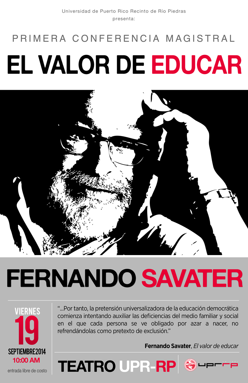 poster Fernando Savater